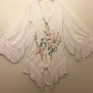 Dresses & Skirts - Boho Beach Goddess Dress